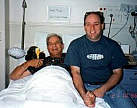 Dad in Hospital andme
